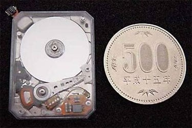 Toshiba's 0.85in HDD