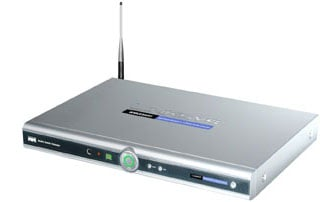 Linksys Wireless A/G Media Center Extender