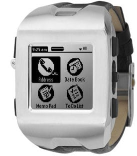 Fossil Wrist PDA - the next generation