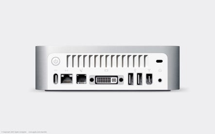 The original (2005) Mac mini