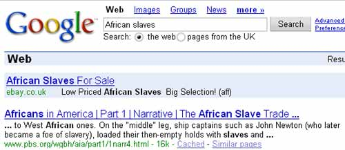 Need An African Slave Try Ebay The Register