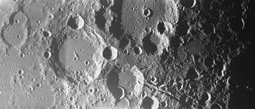 Craters: Europe's first snaps of the lunar surface