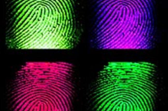 Fingerprints in glorious technicolour