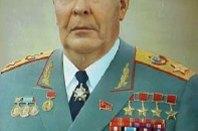 Many awards: Soviet President Leonid Brezhnev