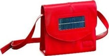 The solar-powered handbag