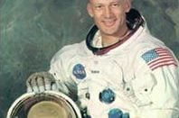 Buzz Aldrin, spaceman. Pic NASA