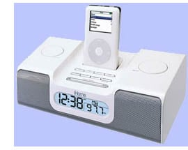 iHome iH5 iPod clock radio
