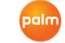 Palm's new logo