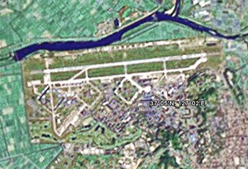 South Korea Throws Strop At Google Earth The Register - Google map us base korea