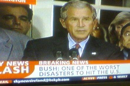 Bush according to Sky News