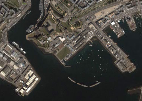 Brest naval base