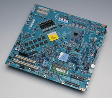 Toshiba Cell reference motherboard