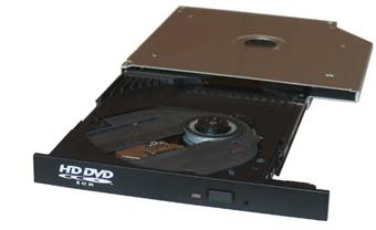 Toshiba TS-L802A HD DVD drive for notebooks