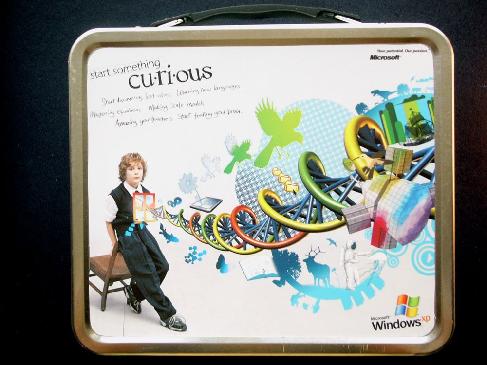 Bill Gates Lunchbox