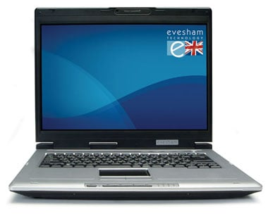 Evesham Voyager C550 Core Duo notebook