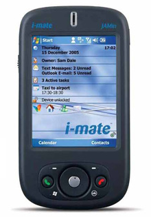 i-mate jamin pda phone