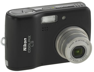 nikon coolpix l3 digital camera