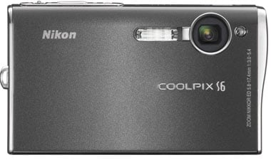 nikon coolpix s6 digital camera