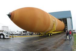 Discovery Fuel Tank. Pic: Lockheed Martin