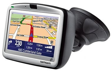 tomtom go x10 series in-car GPS navigators