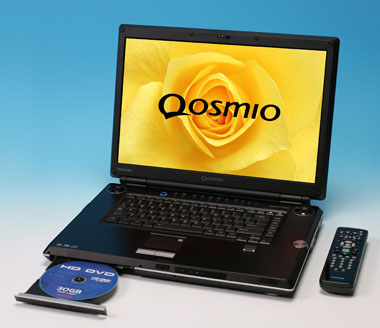 toshiba g30 qosmio hd dvd notebook