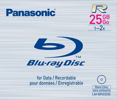 panasonic blank blu-ray recordable media