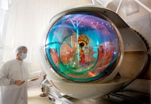 The ABL's laser turret. Photo: Lockheed Martin