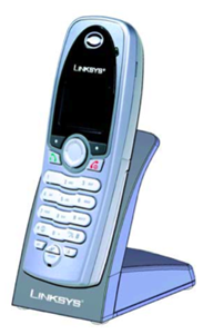 linksys cit200 skype voip cordless handset