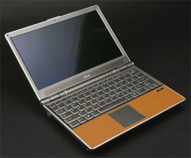 asus leather-clad laptop s6f
