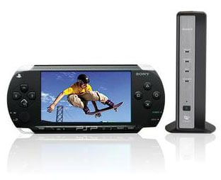 sony psp and lf-pk1 locationfree tv rig