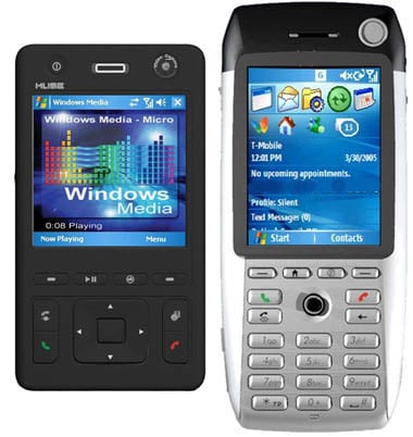 htc muse and breeze hsdpa handsets