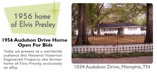 Elvis's first house - yours for sold for $905,100