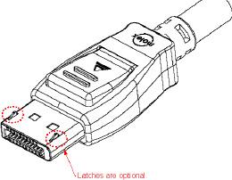 vesa displayport connector