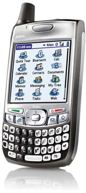 palm treo 700p smart phone