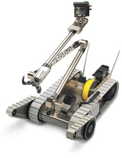 The iRobot PackBot EOD