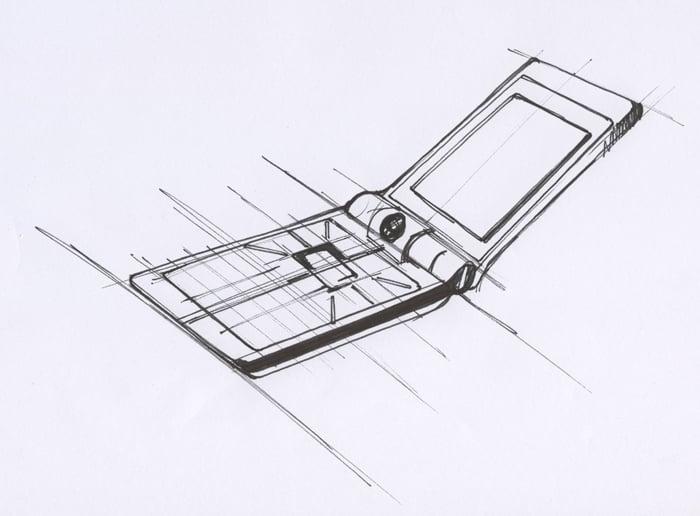 BenQ Siemens EF81 design sketch