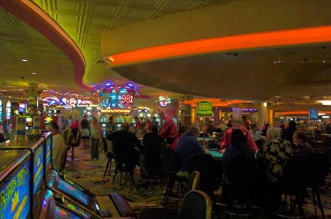 An illustrative shot of the casino