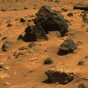 Another meteorite on mars?