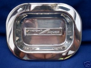 That stainless steel ashtray in full