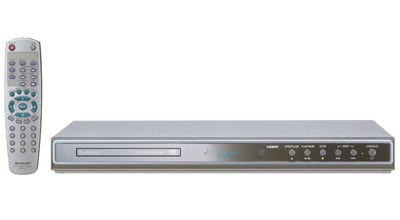 sharp DV-SV97H hd-friendly dvd player
