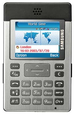 Samsung P300 Credit Card Sized Phone The Register