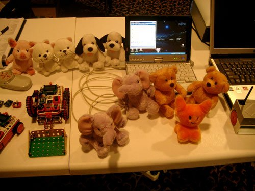Furry robots that plug into your USB port and are shaped like animals