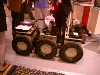 Sixwheeled robot