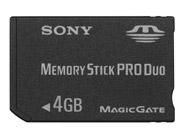 sony memorystick pro duo 4gb