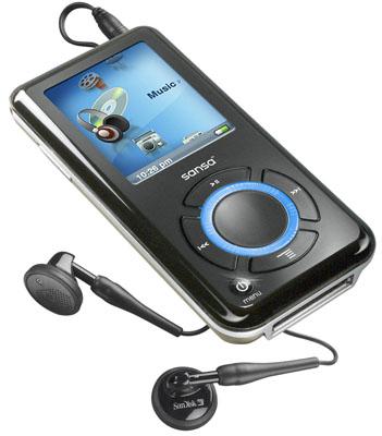 SanDisk_Sansa_e250_headphones