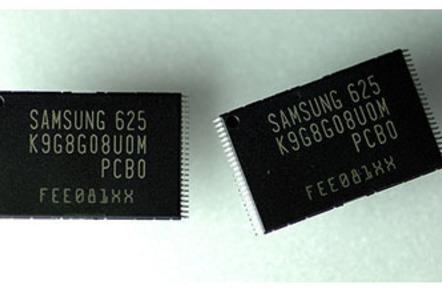 samsung 8gb 60nm nand flash chips