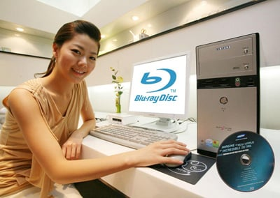 samsung magicstation mv55 blu-ray pc