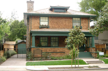 Hewlett and Packard house at 367 Addison Avenue
