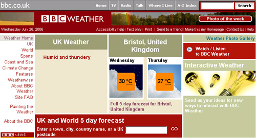 BBC Bristol weather forecast