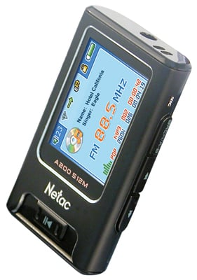 netac mustik a200 fm tranmitter mp3 player
